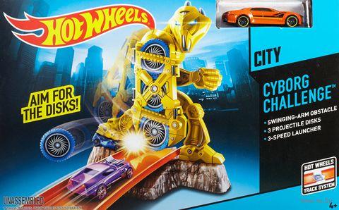 """Игровой набор """"Hot Wheels. Схватка с Киборгом"""""""