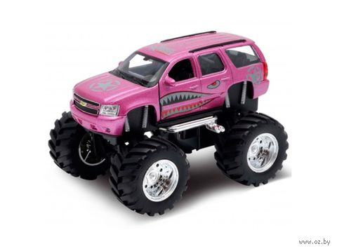 "Модель машины ""Chevrolet Tahoe Big Wheel Monster"" (масштаб: 1/34-39) — фото, картинка"