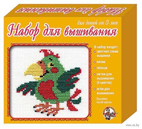 """Вышивка крестом """"Попугай"""" (арт. 305)"""