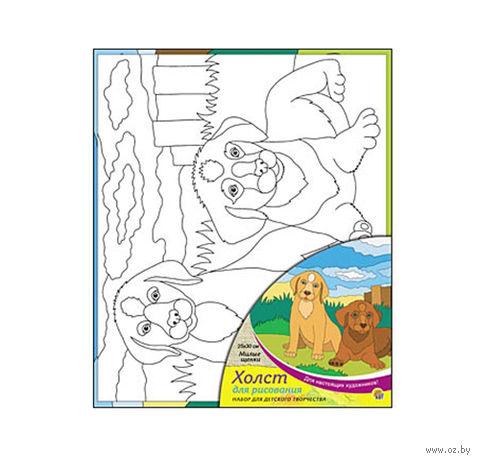 """Набор для рисования """"Милые щенки"""" — фото, картинка"""