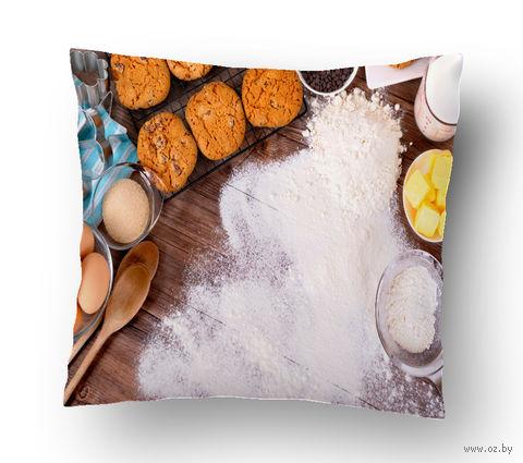 "Подушка маленькая ""Food"" (арт. 10; 15х15 см) — фото, картинка"