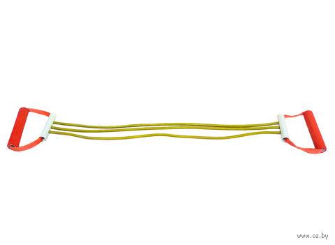 Эспандер плечевой резиновый ЭП-3-К (3 струны) — фото, картинка