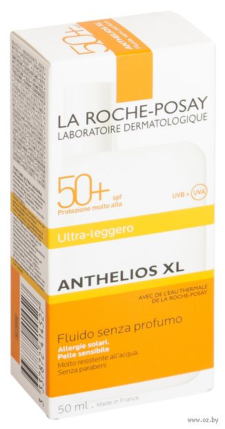 "Флюид для лица солнцезащитный ""Anthelios XL"" SPF 50+ (50 мл) — фото, картинка"