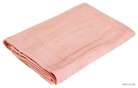 """Полотенце махровое """"Палитра"""" (70х130 см; розово-персиковое) — фото, картинка"""