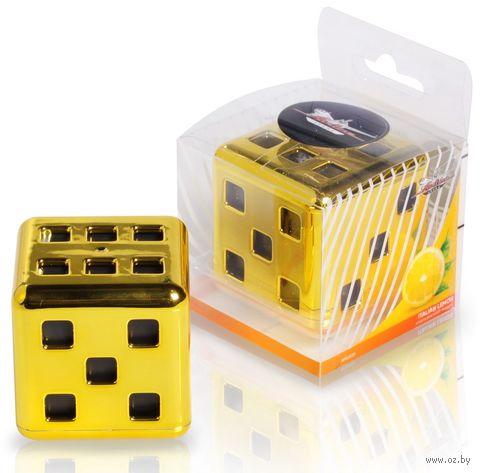 """Ароматизатор """"Куб"""" (итальянский лимон; арт. AFKU039) — фото, картинка"""