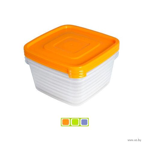 """Набор контейнеров для продуктов """"Унико"""" (3 шт. по 900 мл)"""