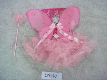 """Набор карнавальный """"Бабочка"""" (юбка, крылья со стразами, палочка) — фото, картинка"""