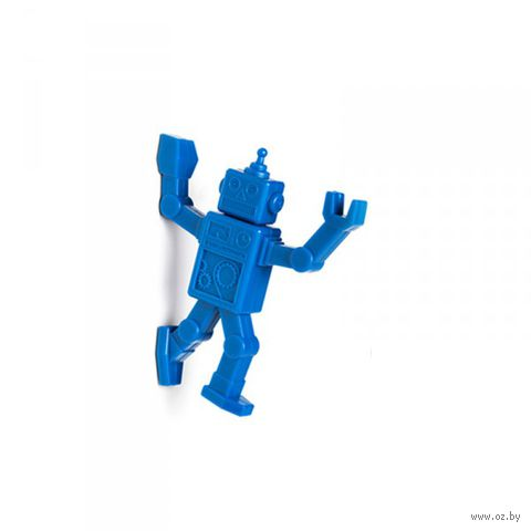 """Магнитный крючок для холодильника """"Robohook"""" (синий)"""