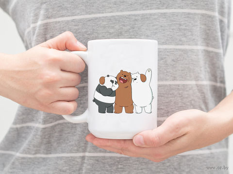 """Кружка """"Обычные Медведи"""" — фото, картинка"""