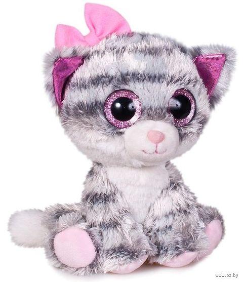 """Мягкая игрушка """"Глазастики. Кошечка"""" (15 см) — фото, картинка"""