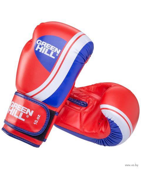 """Перчатки боксёрские """"Knockout BGK-2266"""" (12 унций; красные) — фото, картинка"""
