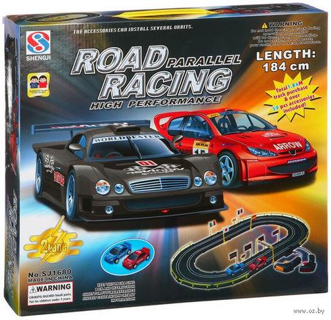 """Игровой набор """"Автотрек Road Racing"""" (арт. 1680) — фото, картинка"""