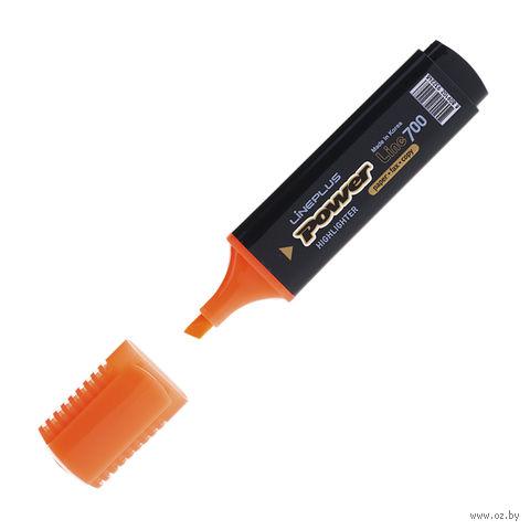 """Маркер текстовый """"HI-700C"""" (оранжевый; 5 мм)"""