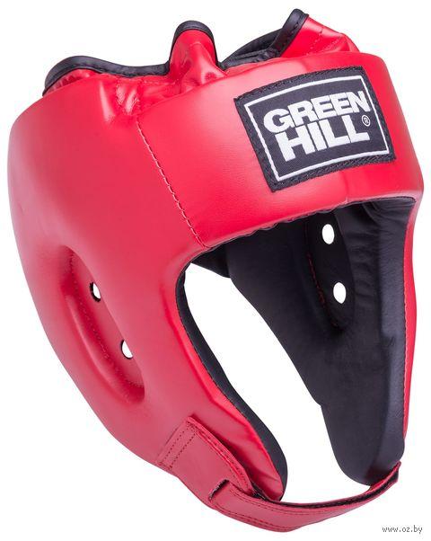 """Шлем открытый """"Alfa"""" (L; красный; арт. HGA-4014) — фото, картинка"""