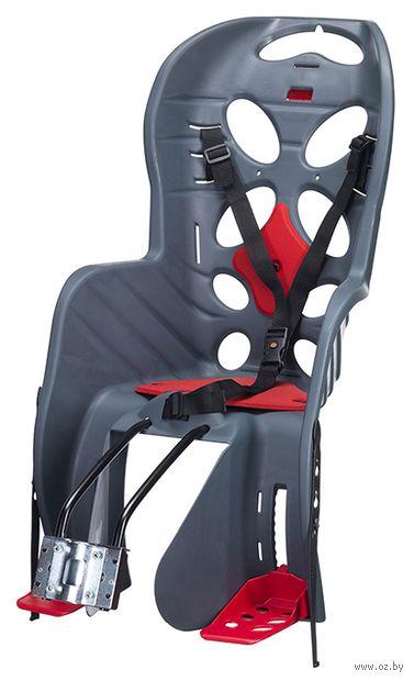 """Кресло велосипедное детское """"FRAACH T"""" (тёмно-серое) — фото, картинка"""