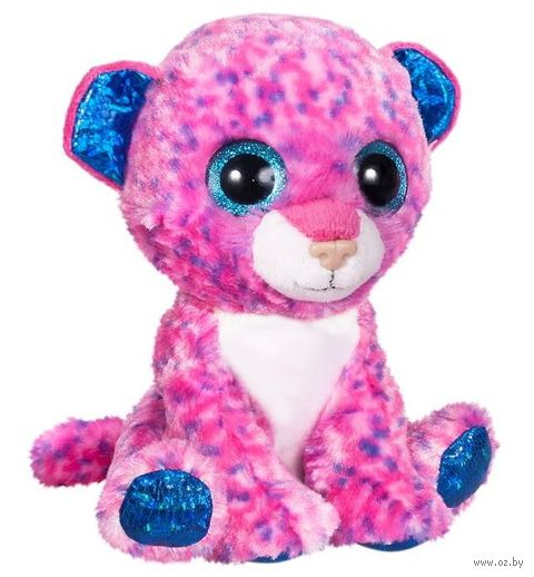 "Мягкая игрушка ""Глазастики. Леопард"" (15 см) — фото, картинка"