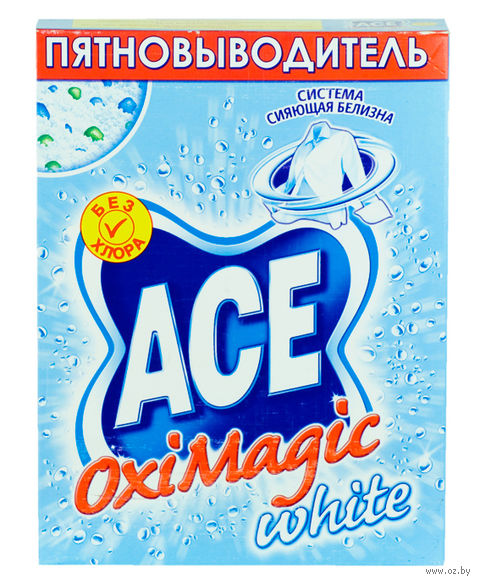 "Пятновыводитель ""ACE. OxiMagic white"" (500 г.)"