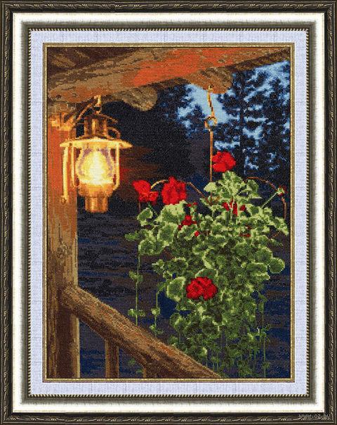 """Вышивка крестом """"Огонек надежды"""" (384х281 мм) — фото, картинка"""