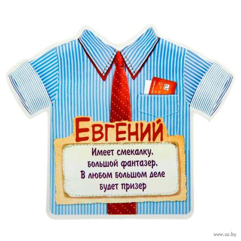 """Магнит пластмассовый """"Евгений"""" (115х99 мм)"""