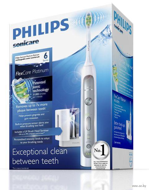 """Электрическая зубная щетка """"Philips Sonicare FlexCare Platinum"""" (арт. HX9182/32)"""