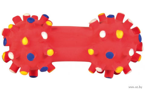 """Игрушка для собак """"Гантель"""" (10 см) — фото, картинка"""