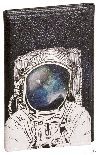 """Обложка на паспорт и автодокументы """"Космонавт"""" — фото, картинка"""