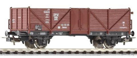 """Модель вагона """"Полувагон Ommu44 DR III"""" (масштаб: 1/87) — фото, картинка"""