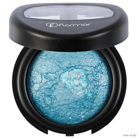 "Тени для век ""Diamonds Terracotta Eye Shadow"" (тон: 05, blue-pearlescent) — фото, картинка"