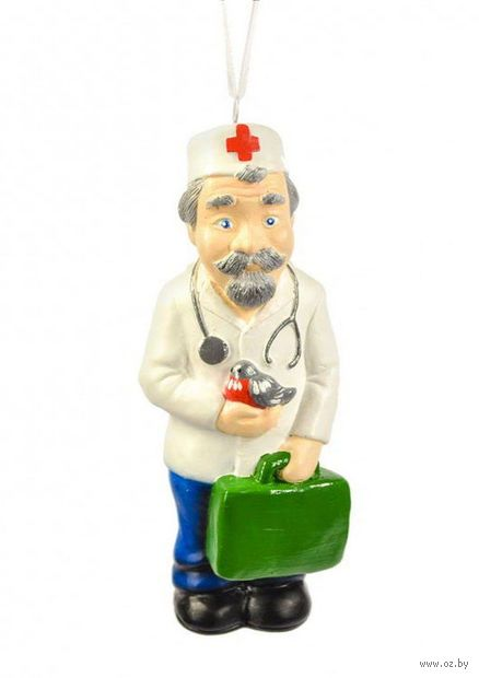 "Ёлочная игрушка ""Доктор Айболит"" (арт. ЕГ-12) — фото, картинка"