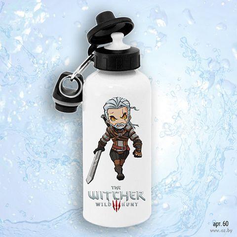 """Бутылка для воды """"Ведьмак"""" (600 мл; арт. 060) — фото, картинка"""