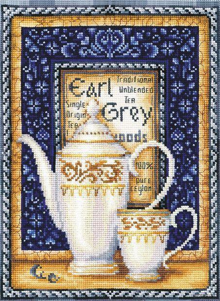 """Вышивка крестом """"Эрл Грей"""" (200х265 мм) — фото, картинка"""