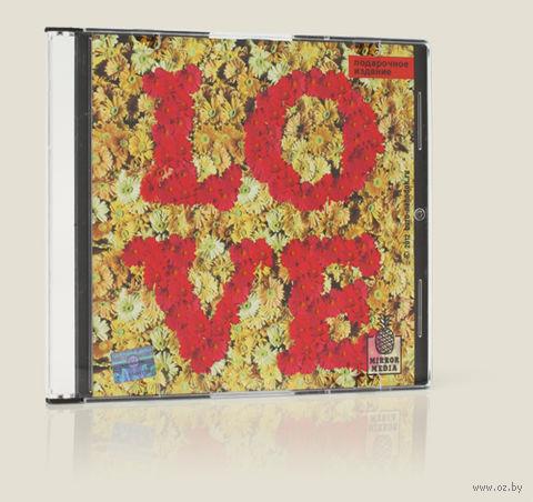 """Зеркало-диск """"Love"""" — фото, картинка"""
