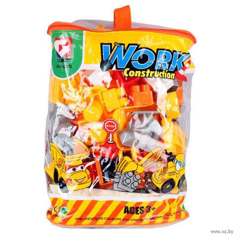 """Конструктор """"Work Construction"""" (78 деталей; арт. DV-T-908) — фото, картинка"""