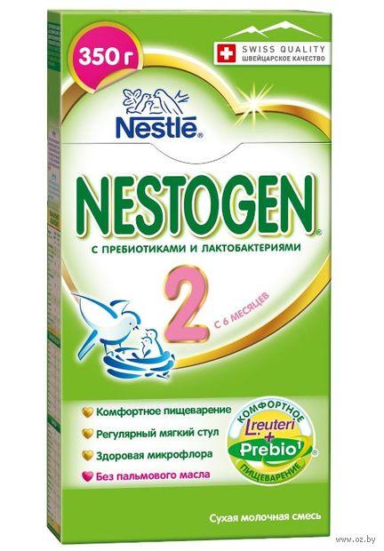"""Сухая молочная смесь """"Nestogen 2"""" (350 г) — фото, картинка"""