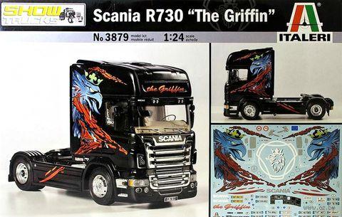 """Сборная модель """"Грузовик Scania R730 """"The Griffin"""" (масштаб: 1/24) — фото, картинка"""